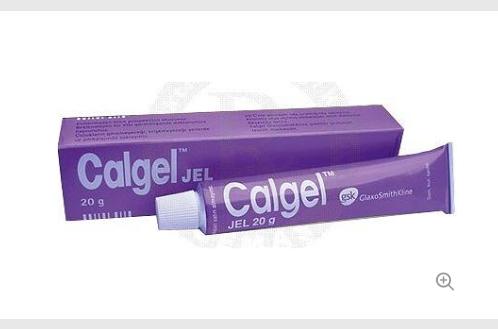 cal1 - Verwendung von Calgel-Creme!
